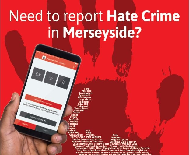 New app for reporting hate crime launched in Merseyside