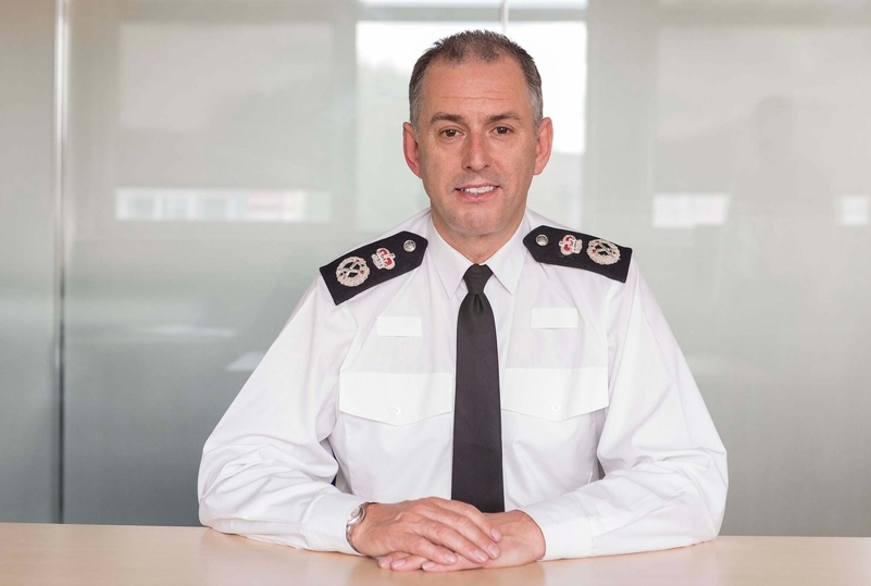 Incumbent Chief Constable Paul Crowther