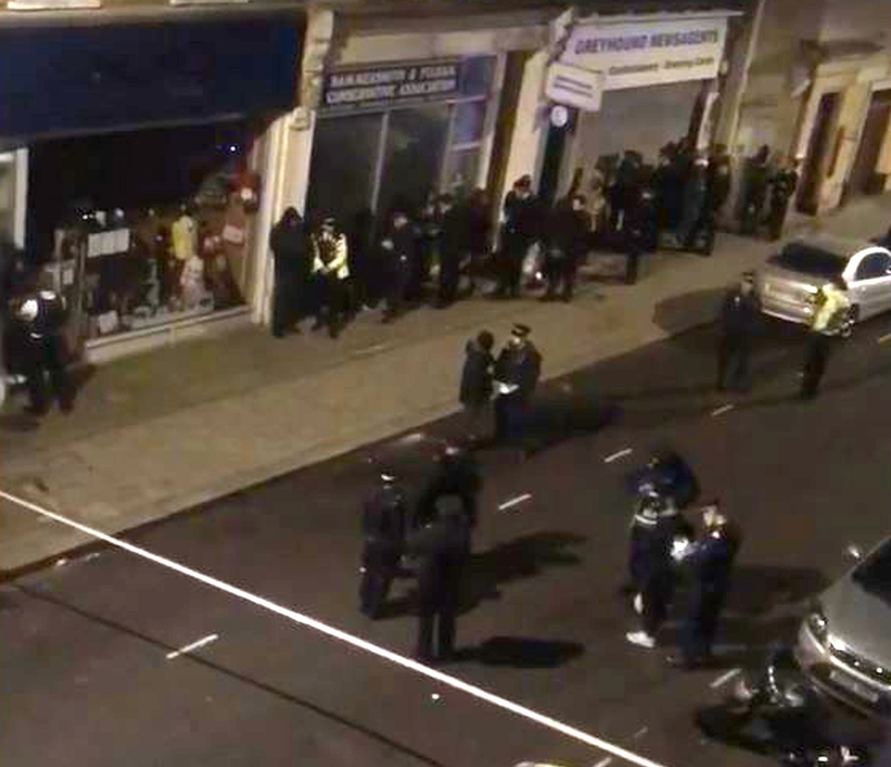 Midnight mayhem: 39 arrests after a man was stabbed in Hammersmith