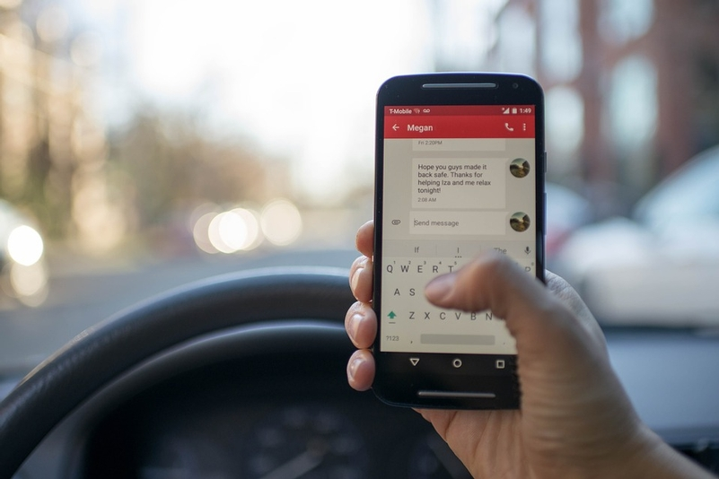 The portal can be used to report a range of offences including using a mobile phone while driving