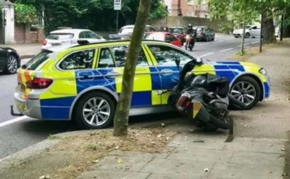 Tactical contact: End of the road for the moped-enabled crime (stock image)