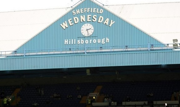 Derby clash: Chesterfield were playing Sheffield Wednesday at Hillsborough