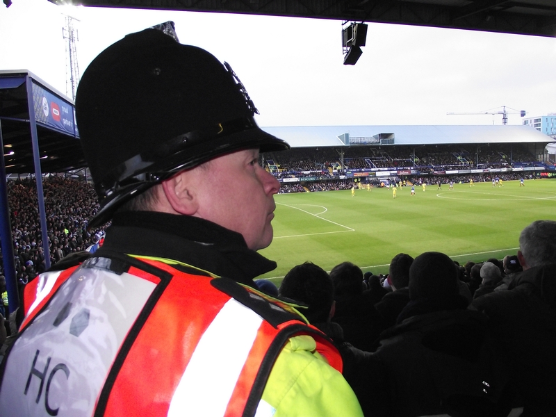The new approach could reduce the number of officers needed at matches