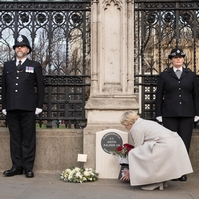 PC Keith Palmer memorial gives public chance to say 'thank you'
