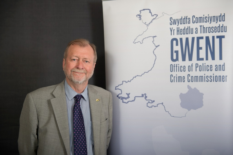 Gwent Police and Crime Commissioner Jeff Cuthbert