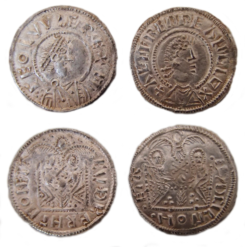 Hoard: Coins similar to the ones recovered by Durham officers
