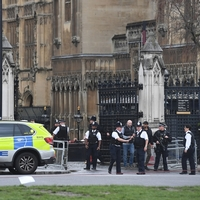 'Shots' fired outside Parliament