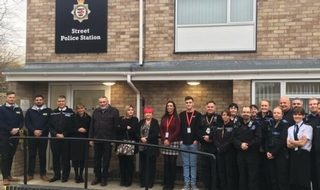 Avon and Somerset dedicates station to beloved PC pair