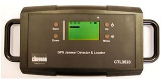 GPS jamming detector for law enforcement