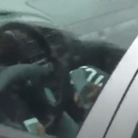 Driver caught using two mobile phones at wheel on motorway