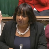 Shadow Home Secretary's son admits to spitting at Met officer