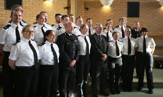 Nottinghamshire Police, the force which lost more than any other officers in the last 12 months, welcomed 19 new officers at a ceremony this week