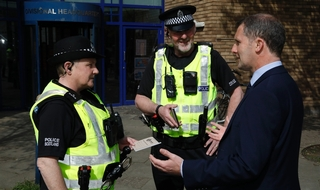 New stop and search code introduced in Scotland
