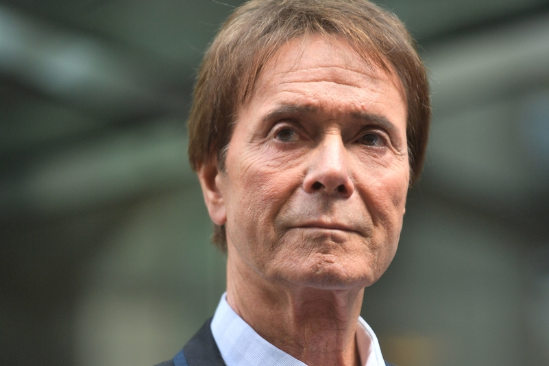 Sir Cliff Richard speaks outside the Rolls Building in London (Photo Credit: PA)