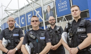Officers honoured for efforts to save five killed in Leicester City FC helicopter crash