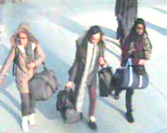 Hundreds of Brits went to Syria in 2014, including schoolgirls
