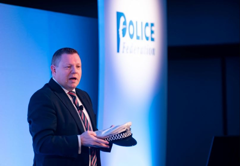 John Apter is a former traffic officer