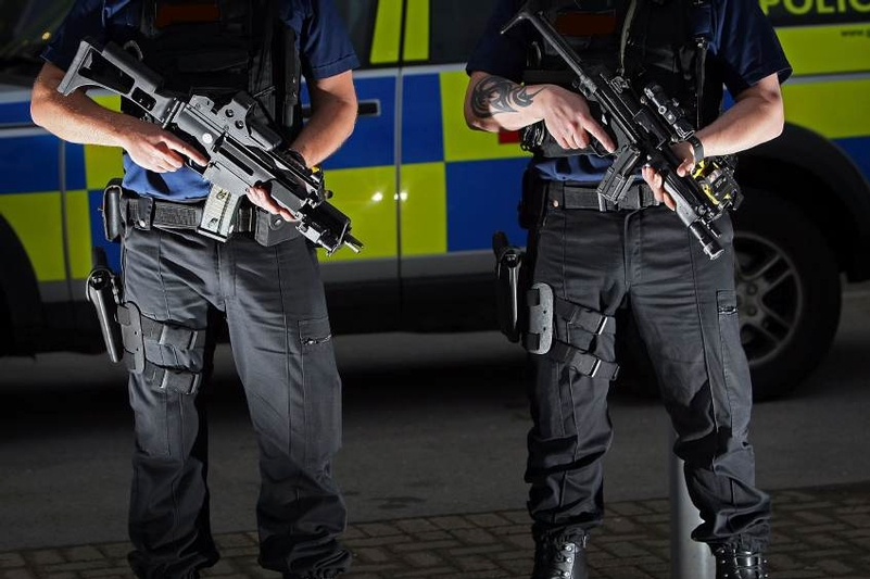 Firearms officer may have been saved serious injuries by armour
