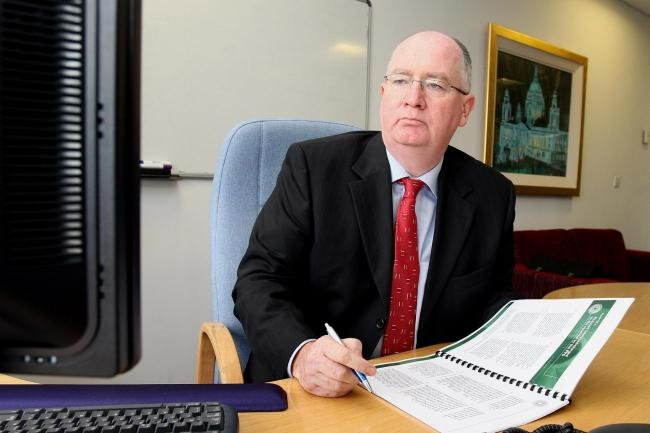 Dr Michael Maguire: Asked to independently investigate the police handling of the incident