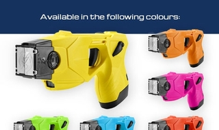 New range of taser colours will 'increase uptake'