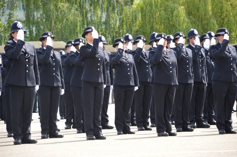 The last passing out parade at Hendon last year. Photo: Met Police Facebook