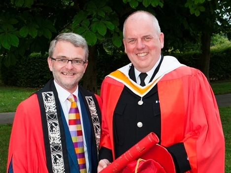 Chief constable awarded honorary doctorate