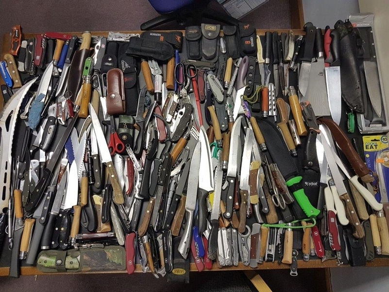 A Met Police knife amnesty last year