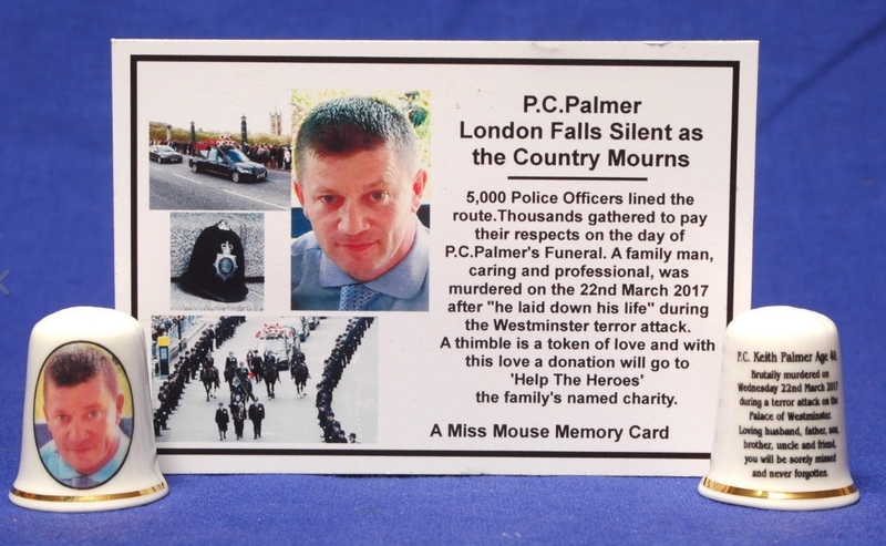 PC Keith Palmer died in the Westminster terror attack
