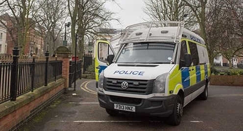 Mass brawl: Leicestershire Police officers taken to hospiral