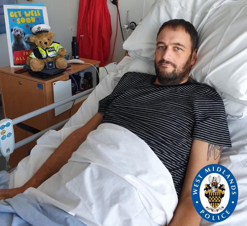 PC Phillips has undergone extensive surgery for his injuries