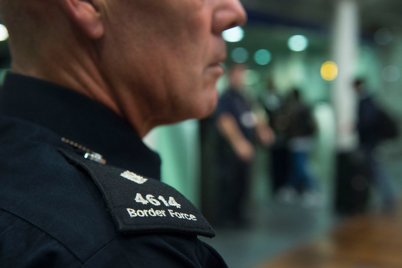 The system is being used by only 300 out of 7,000 border staff