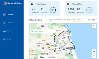 New app 'Visibeat' tracks and shows location of Humberside officers