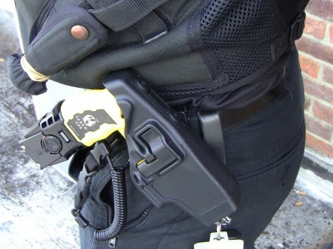 Increasing Taser use 'due to device's wider roll out'