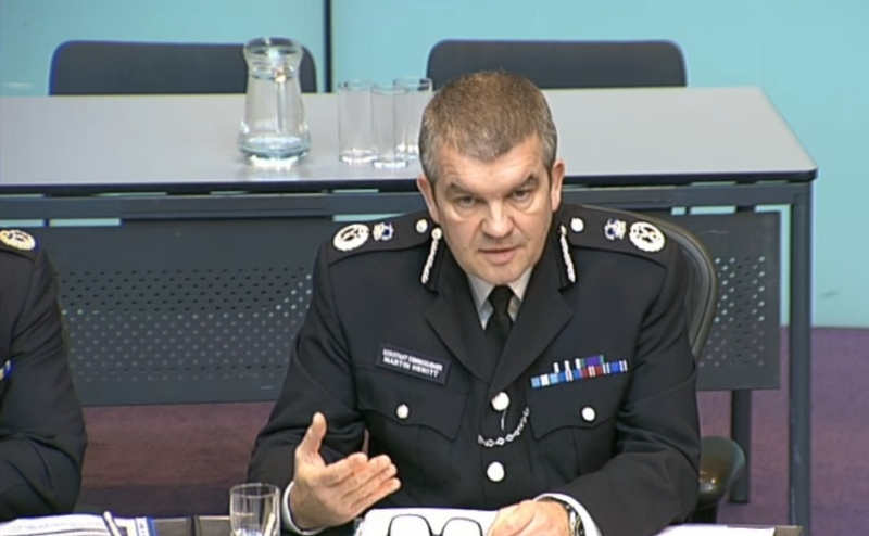Mr Hewitt said the new Home Office team wanted a better relationship with policing