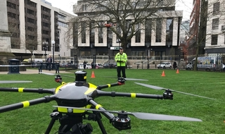 Drones trialled in city to hunt off-road criminals