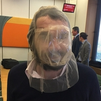 If Diane wants evidence for spit guards I am happy to oblige...