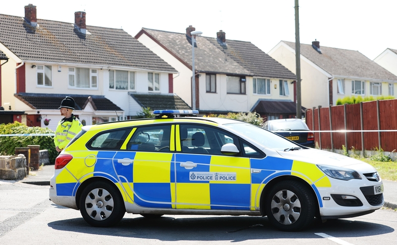 File photo of a West Mercia Police car. Photo: PA Wire