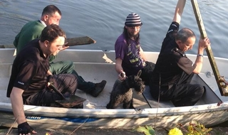 Deja vu over second dog pond rescue