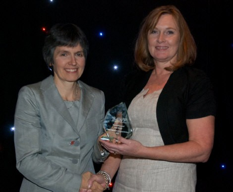 Female Awards: Chair's Contributions Saluted