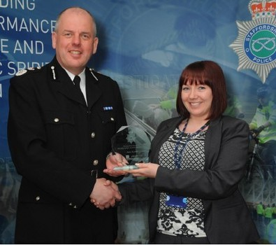 Female Police Awards: Analyst's Intelligence Work Praised