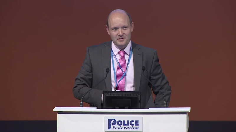 Craig Guildford, pictured at a Police Federation Conference