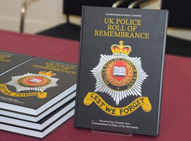 The UK Police Roll of Honour is now available in digital form