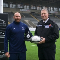 Professional rugby player sworn in as special