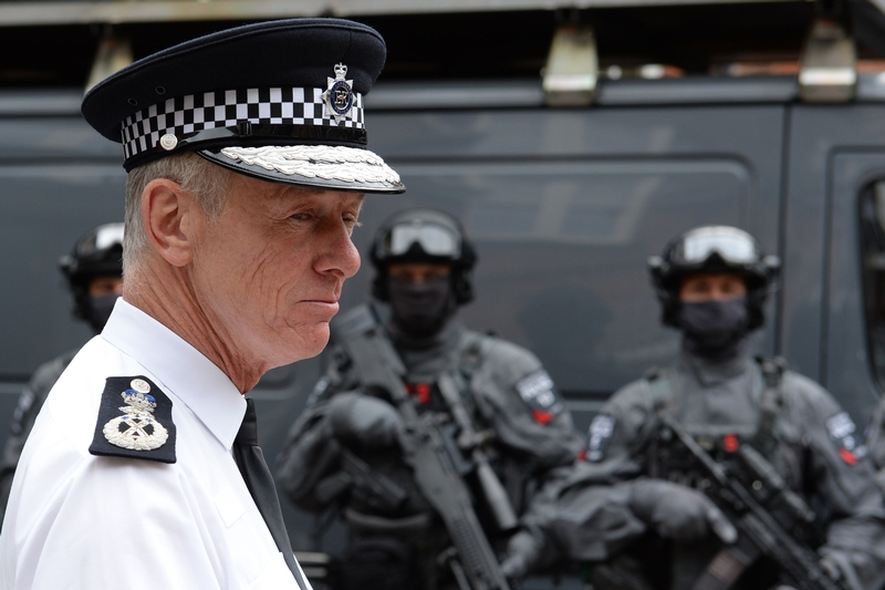 Sir Bernard Hogan-Howe announced his retirement last year