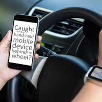 Mobile phone driving 'as socially unacceptable' as drink driving