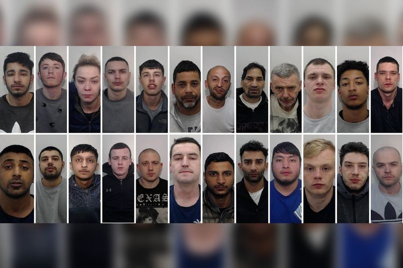 Result: Faces of convicted organised crime group