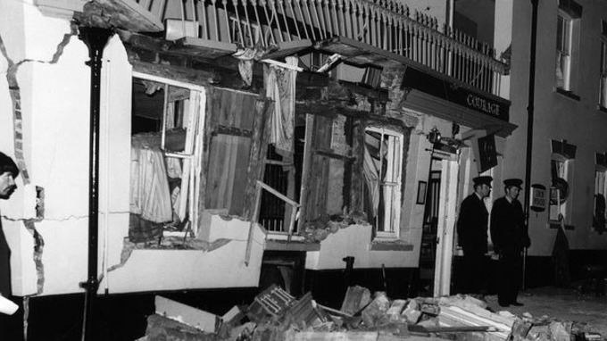 Deadly blast: 1974 Guildford pub bombings