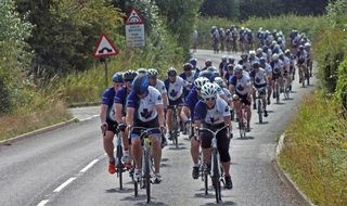 Return of annual pedal cycle for fallen colleagues