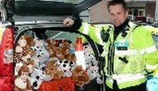Kent Traffic Trial 'Trauma Teddies'