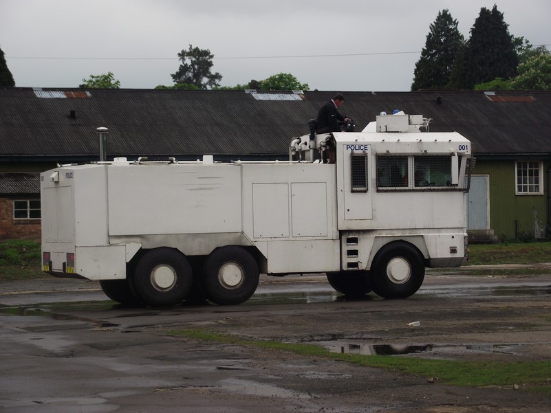 Water cannon 'has serious limitations'